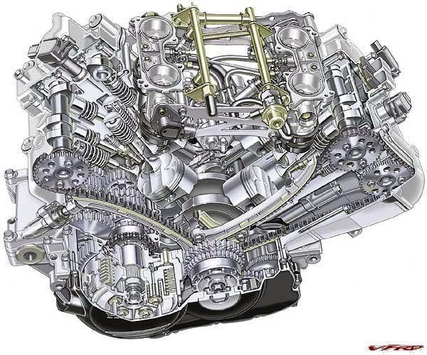 Vfr800 Cutaway