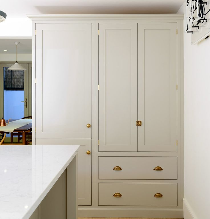 concept of cabinetry for the Pantry and Refrigerator area