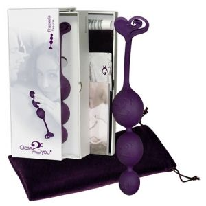 Bile vaginale si anale Close2You Rhapsodia purple - Xtoys.ro Sex Shop Online