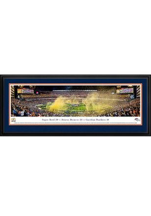 SAVE $50 TODAY ONLY   Denver Broncos Super Bowl 50 Victory Deluxe Framed Posters