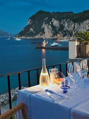 J.K.Place Capri Hotel - Luxury Hotel Capri - Five Stars Hotel in Capri - Boutique Hotel in Capri - Official Site, well it sure looks like I would love it!