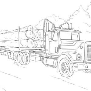 free truck coloring pages unique new printable monster