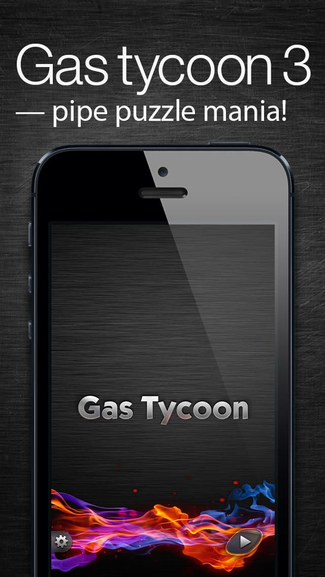 Gas Tycoon 3 - pipe puzzle mania! on App Store:    SALE  Limit time 60% price drop!  SALE  Gas Tycoon 3 is a fast-thinking puzzle game for fans of pipe mania. Your goal is to connect consumers (train line roll flow) to a source of energy by turning elements in order to provide a clear path. Sounds simple? Wait un...  Developer: Aleksey Kalinin  Download at http://ift.tt/1w7SGV6