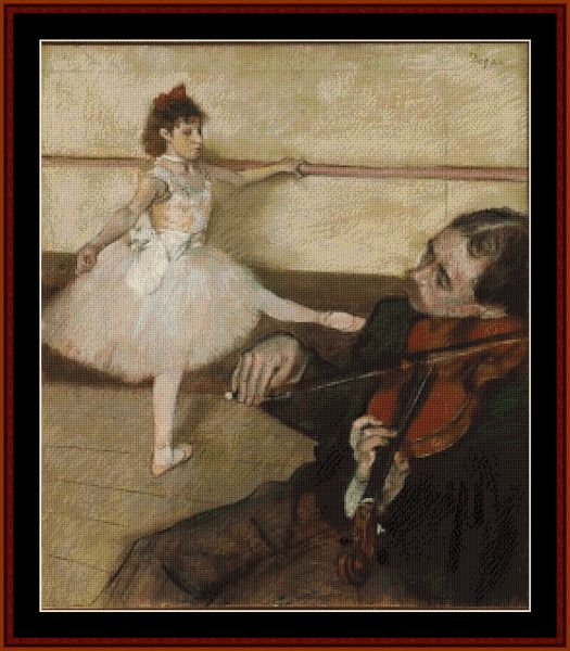Jan Hagara Cross Stitch Patterns: 1000+ Images About Edgar Degas Cross Stitch Patterns By