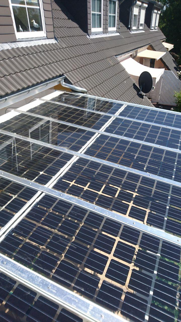 Holz Terrassenuberdachung Mit Solar Glasdach Vom Holzhof