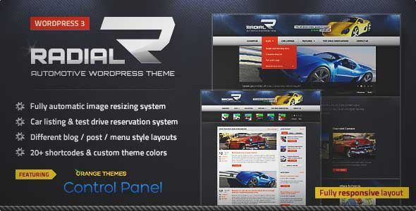 Download and review of Radial – Premium Automotive & Tech WordPress Theme, one of the best Themeforest Technology themes