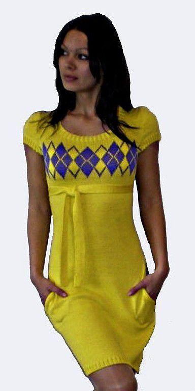 5471ca6c050 Платья ручной работы. Ярмарка Мастеров - ручная работа. Купить платье П-1.  Handmade. Машинное вязание