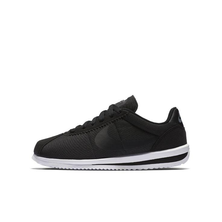 Nike Cortez Ultra Big Kids' Shoe Size 4.5Y (Black)