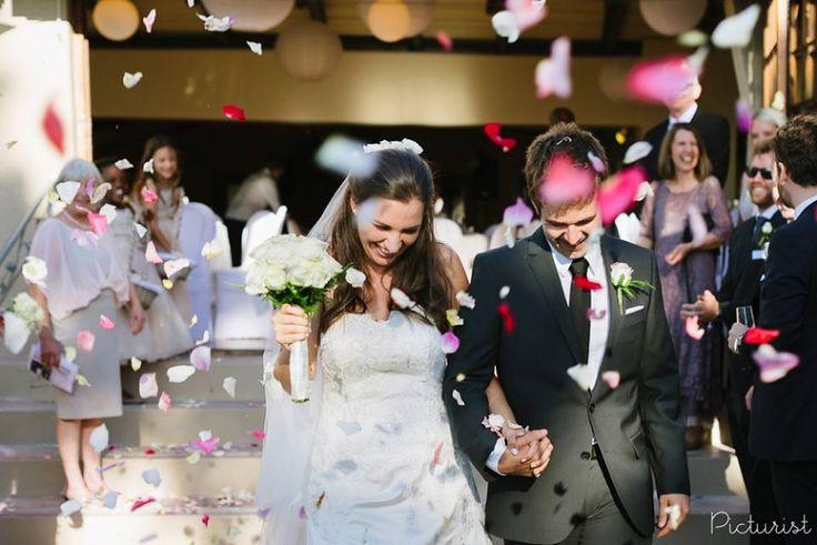 www.picturist.co.za Colourful confetti! From Lauren & Brian's Wedding at Suikerbossie