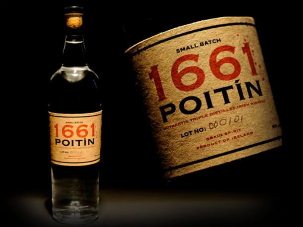 Continuing my love affair with Irish spirits, I offer poitin (pot-cheen) which is basically Irish moonshine. It is the same recipe the average Irish tenant farmer used to create home brewed whiskey for sale to add to the measly amounts he got from the wealthy landowners. Now, newly relevant and increasingly popular, this potato-based liquor will knock your socks off.