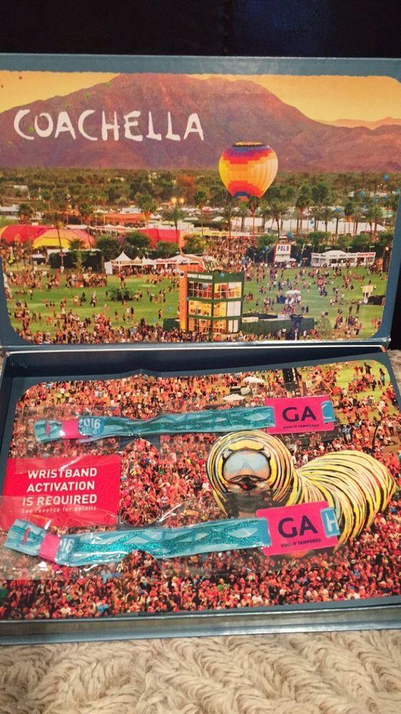 Coachella Music Festival Tickets Weekend 1 04 15 16 | eBay
