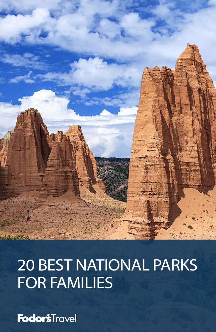 Not sure which national park is right for your family? We've rounded up the twenty best family-friendly national parks in the great 48 plus Alaska and Hawaii. It's worth noting that, at all of these parks, your kids (ages 5–13) can partake in the Junior Rangers program, which involves educational activities based on the park's topography and biology. Tall trees, active volcanoes, and awe-inspiring caves await you on your next incredible family getaway, so start planning today!