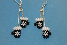 Another beaded earring design you can find on my website thatbeadedearringlady.blogspot.com