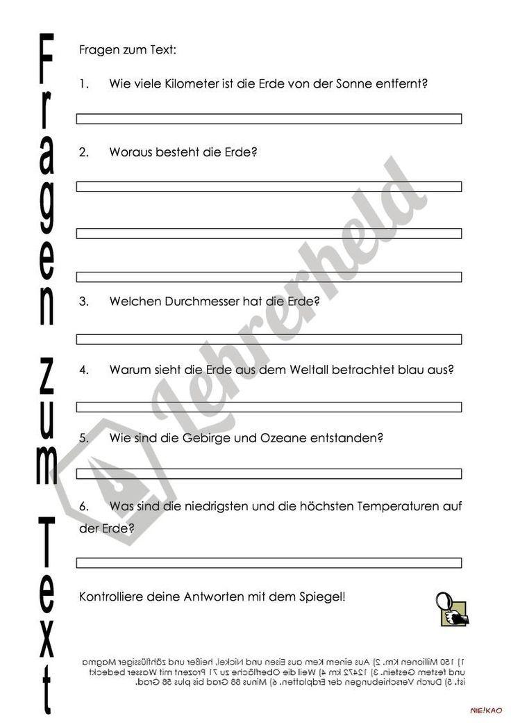 13 best Naturwissenschaften in der Grundschule images on Pinterest ...