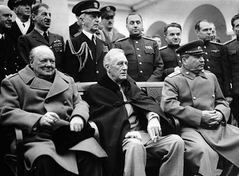 World Leaders of World War II  Churchill, Roosevelt, & Stalin: History, 1945, Wwii, Franklin Roosevelt, War Ii, Winston Churchill, People, Joseph Stalin