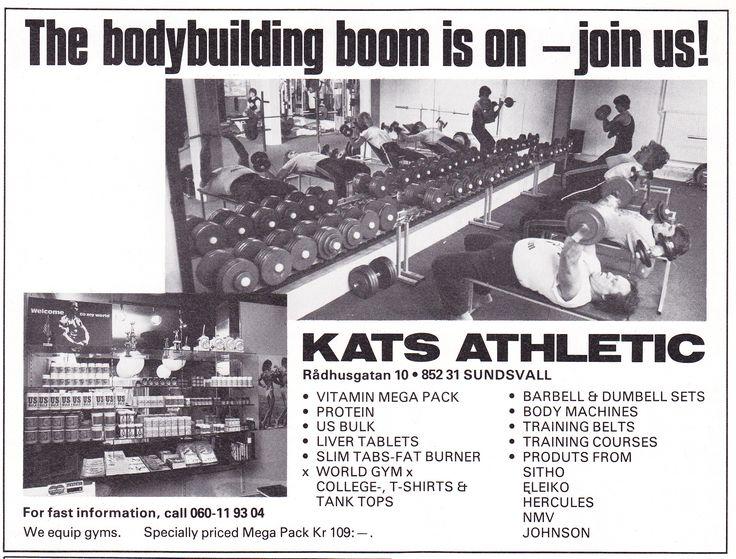 Sweden Sundsvall - Kats Atletic 1981