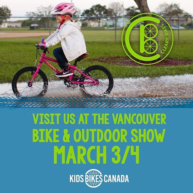 """Did you know that we have a distributor in Canada? @kidsbikescanada are awesome and they will hook you up with Cleary Bike! RepostBy @kidsbikescanada: """"Come test ride a Cleary Bike at the @vanbikeshow! Yes you too parents these bikes are tough! March 3/4 Vancouver Convention Center . . . #vancouver #yvr #northvancouver #kitsilano"""" (via #InstaRepost @AppsKottage)"""