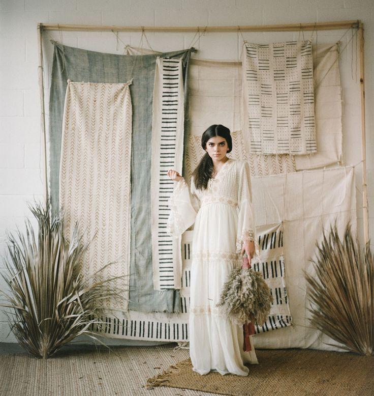 Bountiful Rustic Boho Meets Tropical Harvest Wedding Inspiration