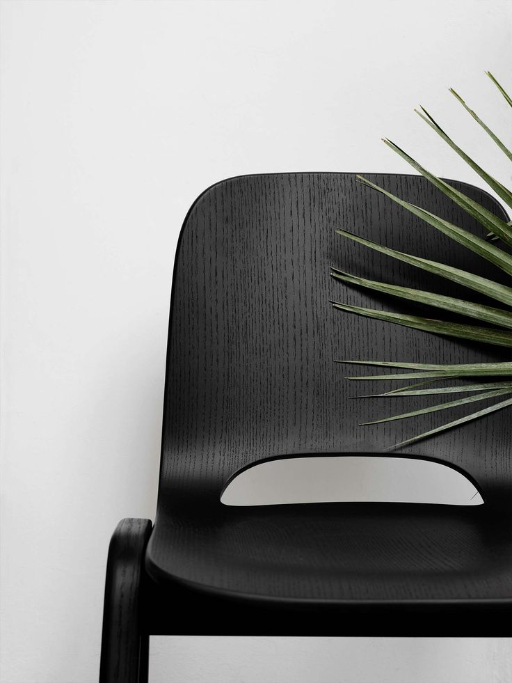 New Fall 2015 Collection by Hem - The Touchwood chair is a wooden stacking chair, now available in black for a sleek touch of minimal Scandinavian charm to draw the eye.