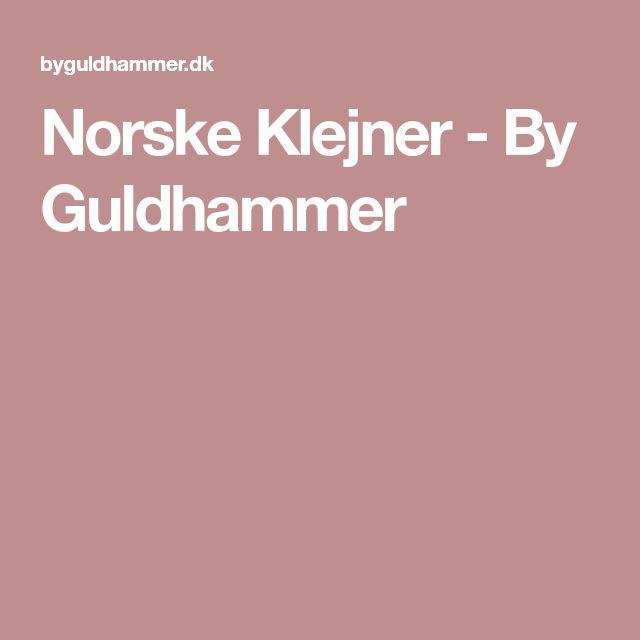Norske Klejner - By Guldhammer