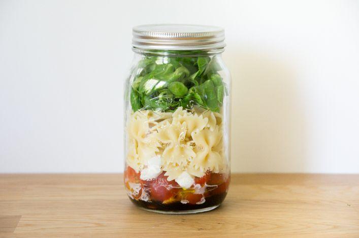 Salade in a jar - mason jar bocal - astuces et recettes sur la Godiche