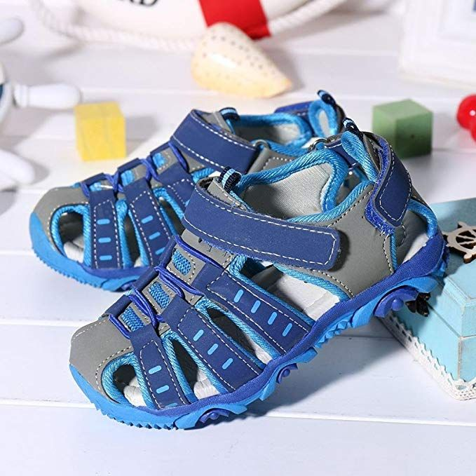 83083535ec74f Amazon.com: LNGRY Shoes,Toddler Kids Baby Girls Boys Closed Toe Anti ...