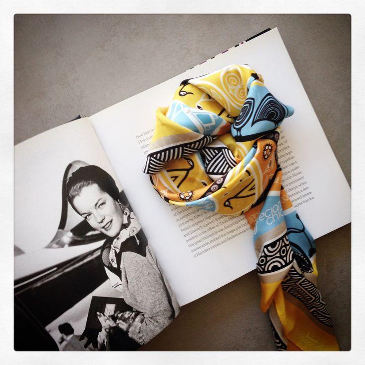 """""""Mycenaean"""" silk scarf by Grecian Chic!"""