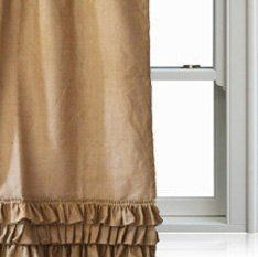 Amore Beaute Handcrafted Natural Burlap Ruffle Curtain Pa... https://www.amazon.com/dp/B01DP6N5X4/ref=cm_sw_r_pi_dp_VY6AxbYZ13FZS