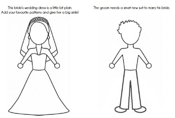 Kids 39 Activity Book wedding activity