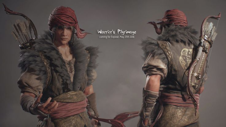 Warrior's Pilgrimage Unnamed Main Character , Arif Pribadi on ArtStation at https://www.artstation.com/artwork/4lJZn