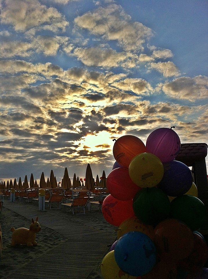 aurora beach cesenatico - sunrise