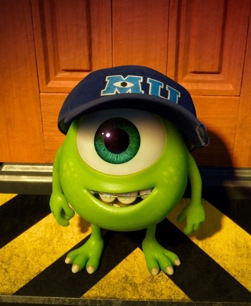 Monsters Inc Loved this movie....I wonder if I could get this blown up and put in in a frame in the nursery