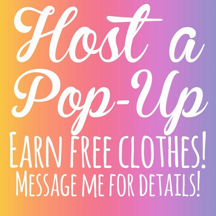 LuLaRoe POP UP - Host a Pop Up - Earn FREE clothes