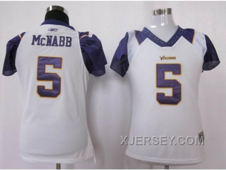 http://www.xjersey.com/cheap-women-nfl-minnesota-vikings-5-mcnabb-field-flirt-fashion-white.html CHEAP WOMEN NFL MINNESOTA VIKINGS #5 MCNABB FIELD FLIRT FASHION WHITE Only $34.00 , Free Shipping!