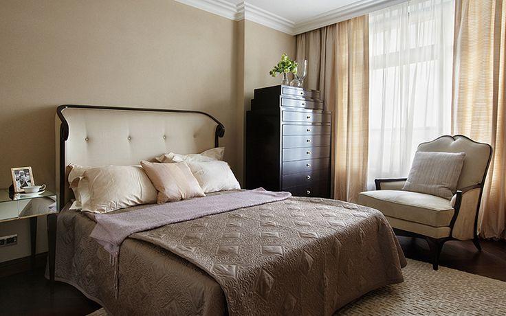 спальня: фото дизайна интерьера - автор Миронова Татьяна
