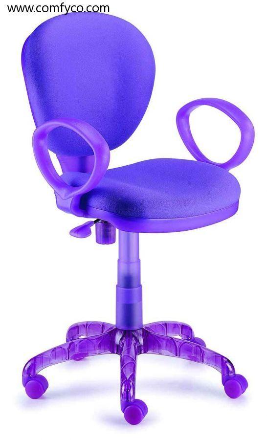 new spec purple task office chair