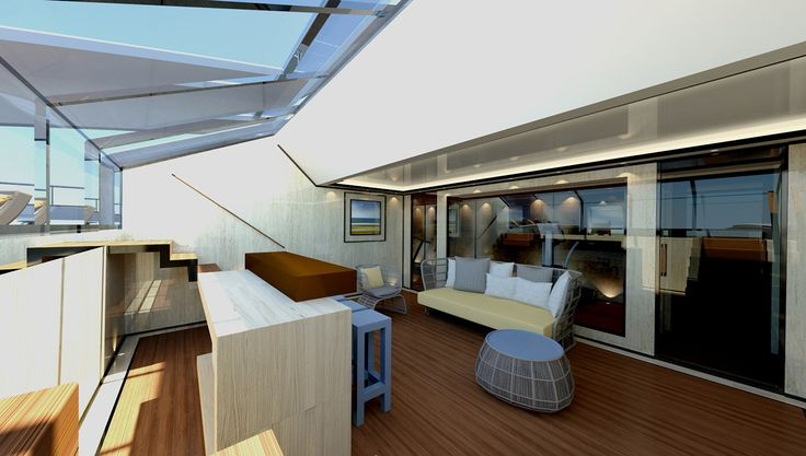 CRN, the custom superyacht division of Ferretti, didn't have any new launches …