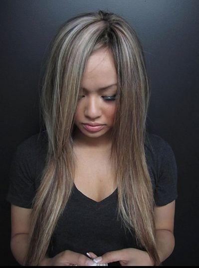 Ash blonde highlights on dark hair trendy hairstyles in the usa ash blonde highlights on dark hair pmusecretfo Image collections