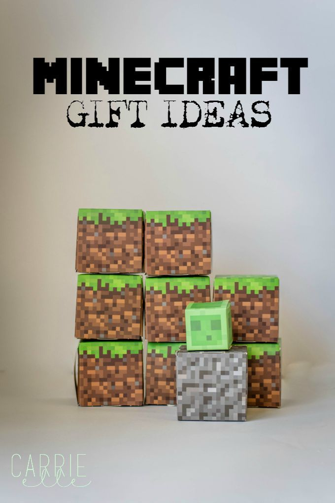 Minecraft Gift Ideas - these are fun gift ideas for Minecraft lovers of all ages!