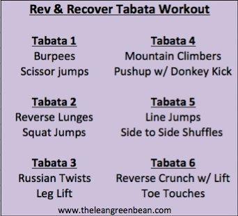 Tabata work