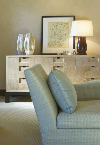 The furnishings' mix incorporated aspects of contemporary styling and  traditionalism, to create a hybrid