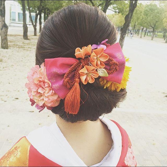 #wedding #weddinghair #bridal #bride #hair #hairstyle #weddingphotography #結婚式 #前撮り #花嫁 #プレ花嫁 #着物 #和装 #和装ヘア #ロケーションフォト #色打掛 #公園 #リボン #ヘアスタイル #ヘアアレンジ #ヘア