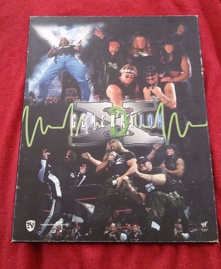used #1998 #DX #DGenerationX 16 by 20 Norman Jones #Pressboard #WWF #WWE picture #HHH #normanjones #TripleH #XPac #BillyGunn #RoadDogg #Chyna #ShawnMichaels #wrestling #attitudeera