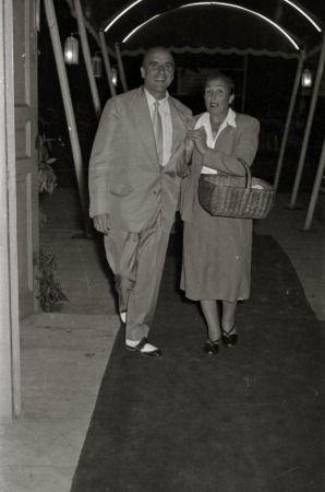 florista Srta. Escolastica 1956