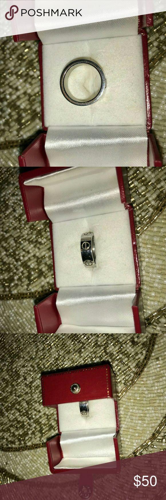 Mens width cartier ring No inscription Cartier Accessories Jewelry