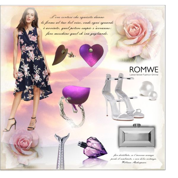 Add the link: http://www.romwe.com/V-Neckline-Floral-Print-Dip-Hem-Dress-p-225085-cat-767.html?utm_source=polyvore&utm_medium=contest&url_from=polyamerlinakasumoviccon #romwe #summer2017 #summerdress #heart #jewel #mermaid #Flowers #floral #floralprint #roses  https://goo.gl/w8vJZM