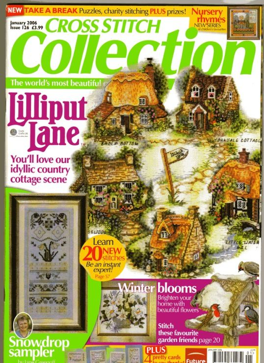 Cross Stitch Collection N'126