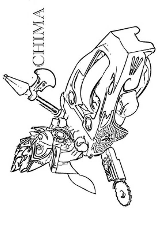 lego chima 70008 gorzans gorilla striker. lego chima coloring pages ...