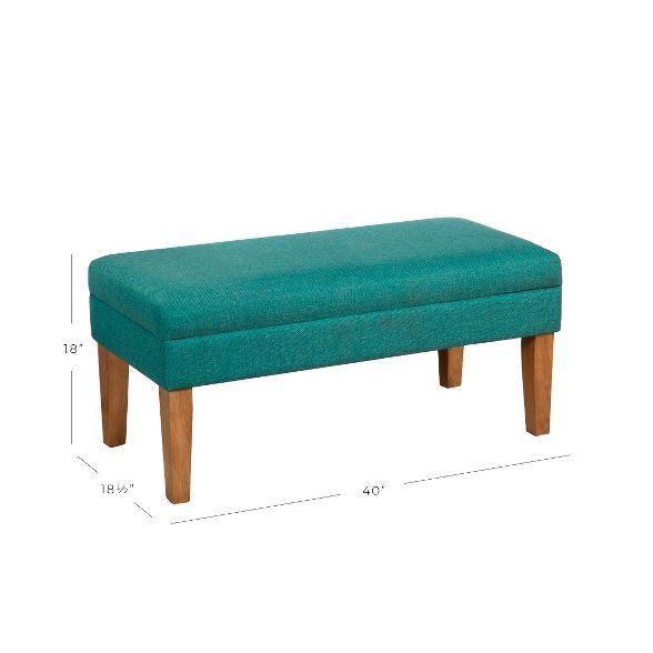 Storage Bench Golding Davis In 2020 Decorative Storage Bench Homepop Tufted Storage Bench