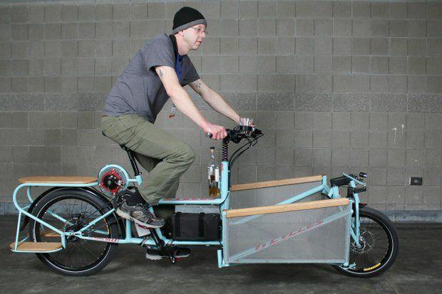 Best Belted Cargo Bike: Ti Cycles, Extreme Cargo Carrier